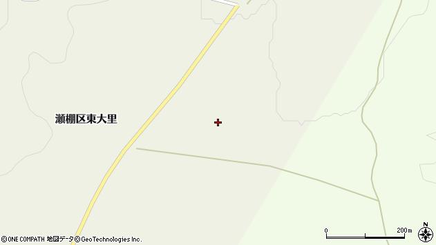 〒049-4826 北海道久遠郡せたな町瀬棚区東大里の地図