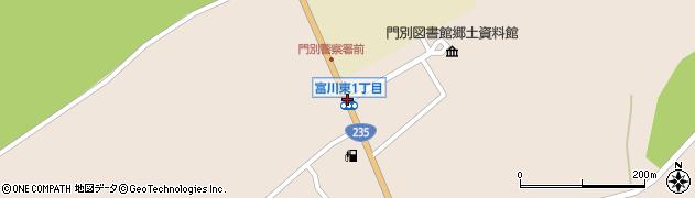 富川東1周辺の地図