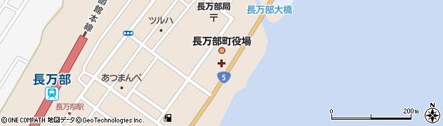 北海道長万部町(山越郡)周辺の地図