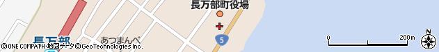 北海道山越郡長万部町周辺の地図