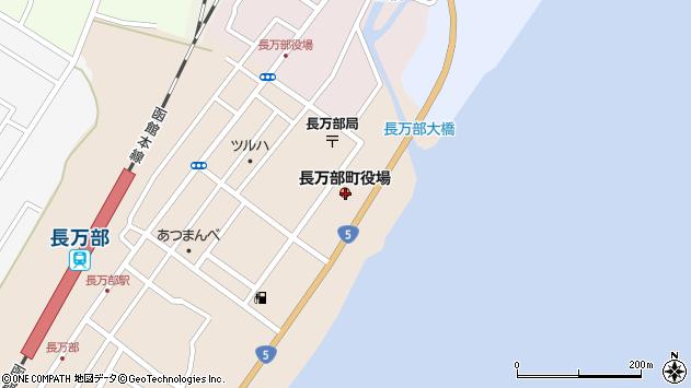 〒049-3500 北海道山越郡長万部町(以下に掲載がない場合)の地図