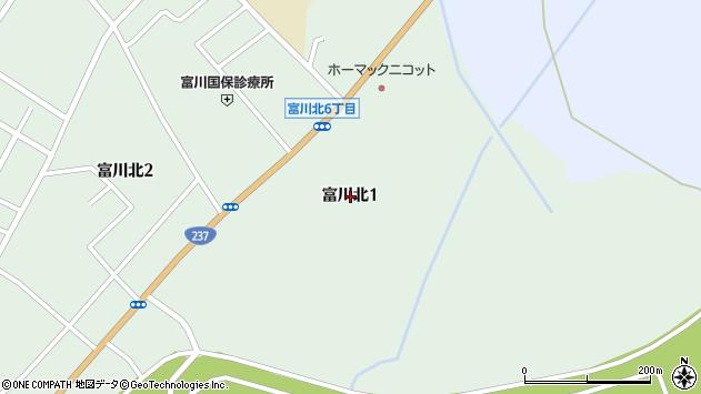 〒055-0001 北海道沙流郡日高町富川北の地図