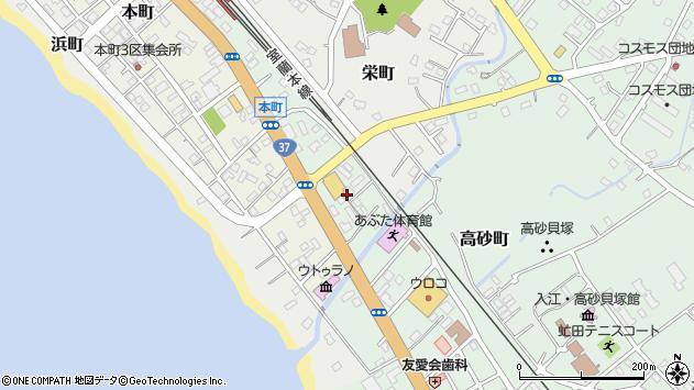 〒049-5611 北海道虻田郡洞爺湖町旭町の地図
