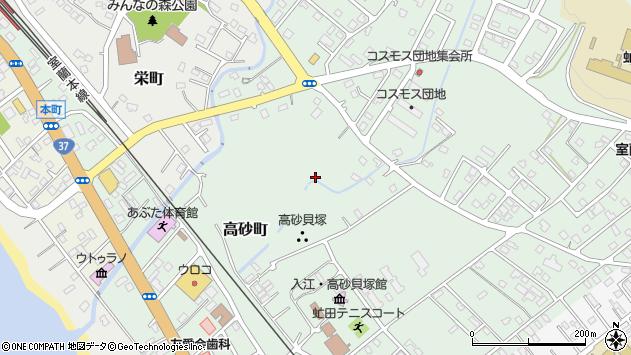 〒049-5605 北海道虻田郡洞爺湖町高砂町の地図