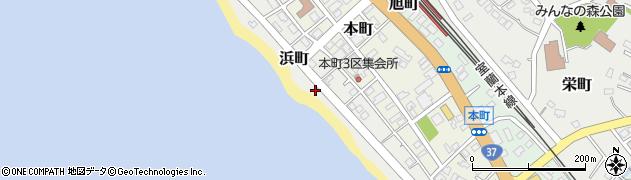 北海道虻田郡洞爺湖町浜町周辺の地図