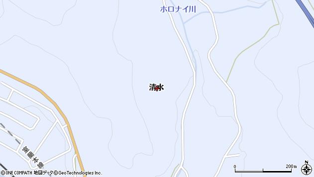 〒049-5613 北海道虻田郡洞爺湖町清水(その他)の地図