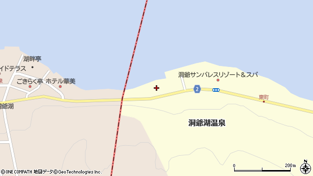 〒049-5731 北海道有珠郡壮瞥町洞爺湖温泉(1〜7番地)の地図