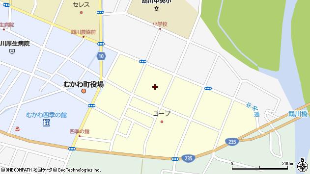 〒054-0041 北海道勇払郡むかわ町松風の地図