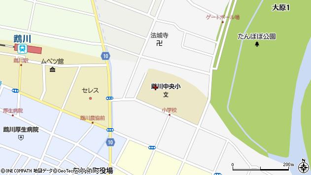 〒054-0022 北海道勇払郡むかわ町花園の地図