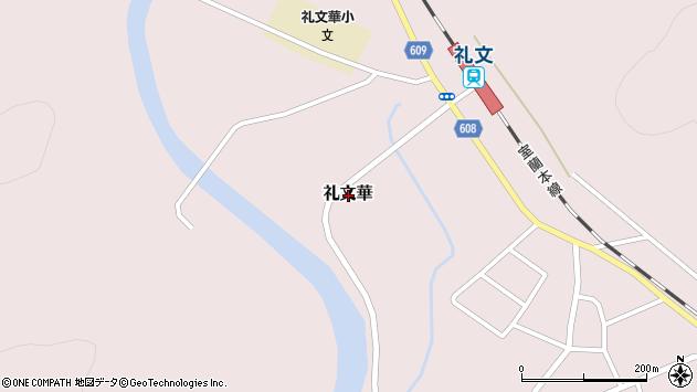 〒049-5333 北海道虻田郡豊浦町礼文華の地図