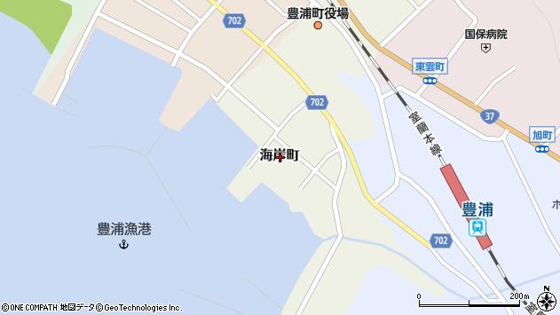 〒049-5413 北海道虻田郡豊浦町海岸町の地図