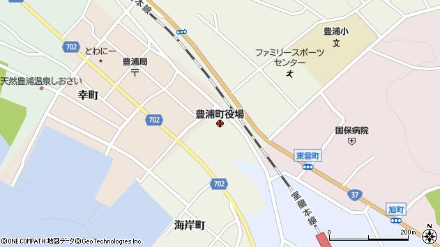 〒049-5400 北海道虻田郡豊浦町(以下に掲載がない場合)の地図