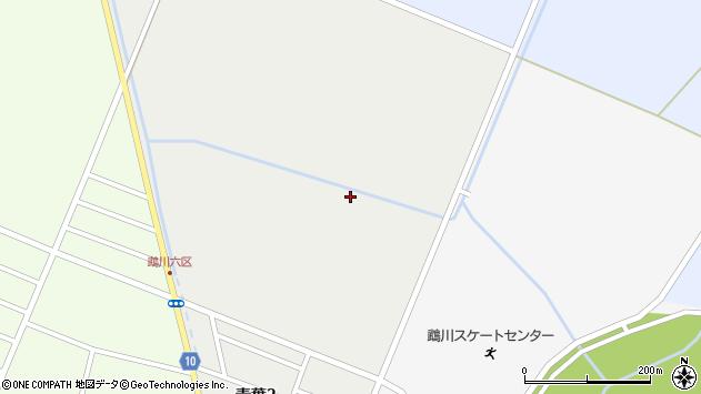 〒054-0031 北海道勇払郡むかわ町青葉の地図
