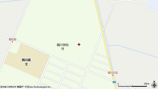 〒054-0032 北海道勇払郡むかわ町福住の地図