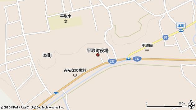 〒055-0100 北海道沙流郡平取町(以下に掲載がない場合)の地図
