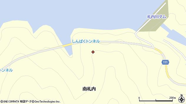 〒089-1374 北海道河西郡中札内村南札内の地図