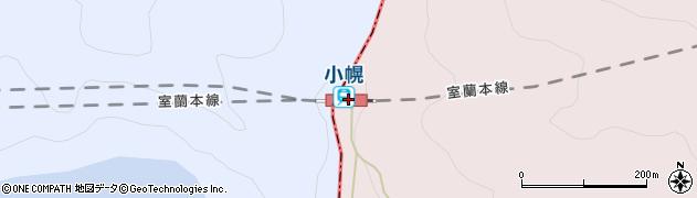北海道虻田郡豊浦町周辺の地図