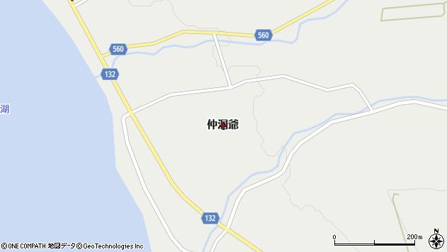 〒052-0105 北海道有珠郡壮瞥町仲洞爺の地図