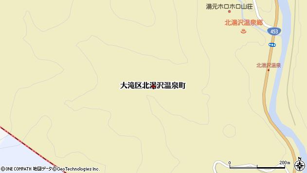 〒052-0316 北海道伊達市大滝区北湯沢温泉町の地図