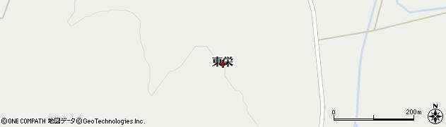北海道寿都郡黒松内町東栄周辺の地図