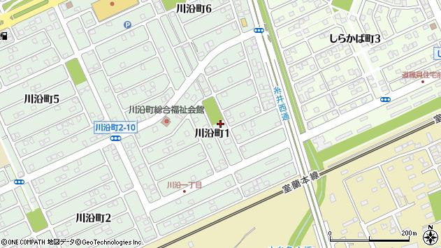 〒053-0822 北海道苫小牧市川沿町の地図