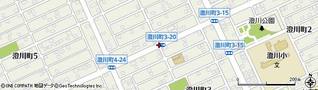 澄川町3‐20周辺の地図