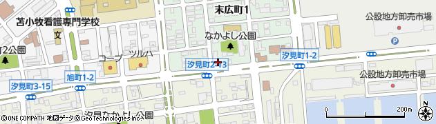 末広町福祉住宅周辺の地図
