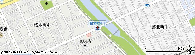 桜木町4‐1周辺の地図