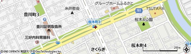 豊川町2周辺の地図