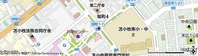 旭町1‐7周辺の地図