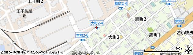 王子町1‐3周辺の地図
