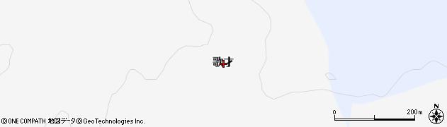 北海道寿都郡黒松内町歌才周辺の地図