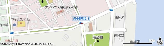 港町2‐4周辺の地図