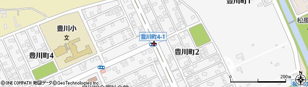 豊川町4‐1周辺の地図