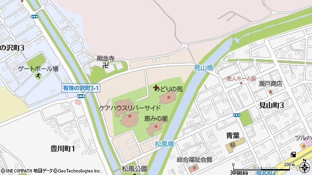 〒053-0841 北海道苫小牧市松風町の地図