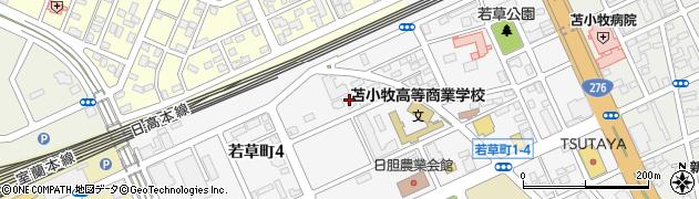 苫小牧日翔病院寮周辺の地図
