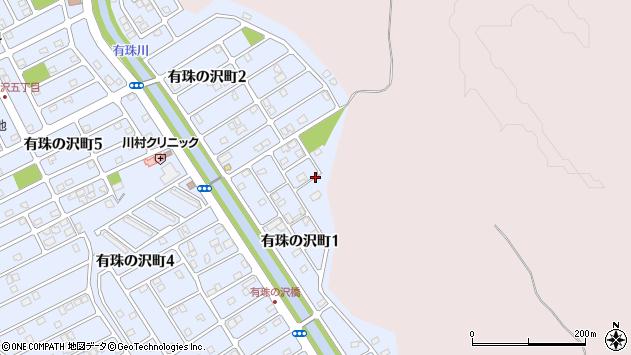 〒053-0842 北海道苫小牧市有珠の沢町の地図