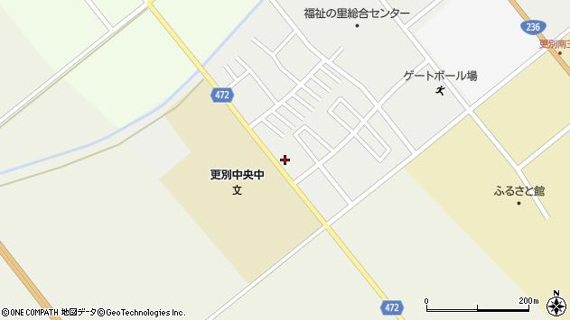 〒089-1531 北海道河西郡更別村曙町の地図