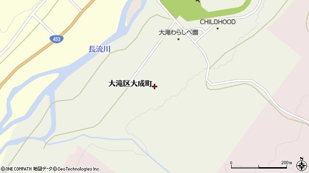 〒052-0313 北海道伊達市大滝区大成町の地図