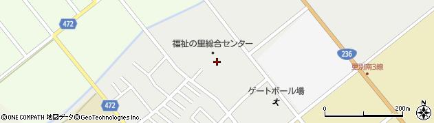 コムニの里さらべつ訪問入浴介護周辺の地図