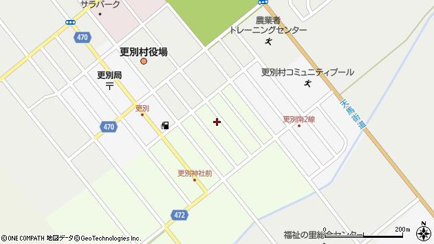 〒089-1521 北海道河西郡更別村錦町の地図