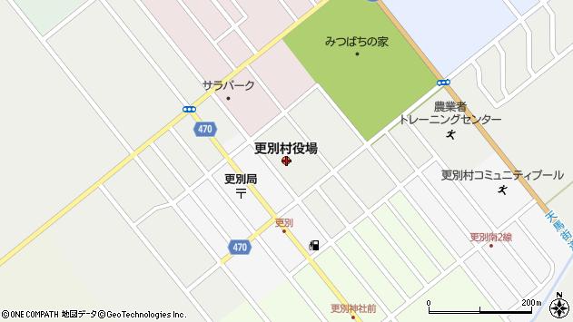 〒089-1500 北海道河西郡更別村(以下に掲載がない場合)の地図