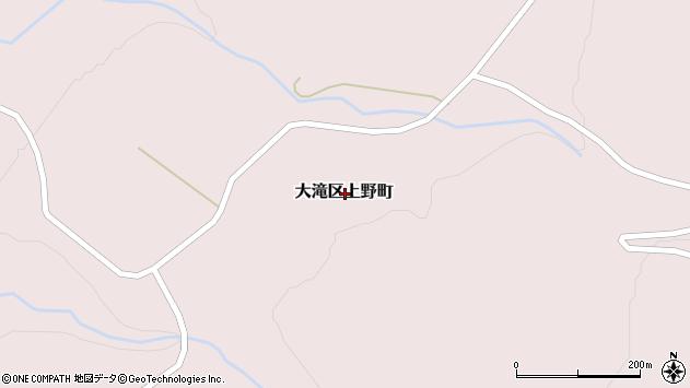 〒052-0312 北海道伊達市大滝区上野町の地図