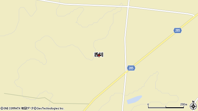 〒049-5831 北海道虻田郡洞爺湖町香川の地図