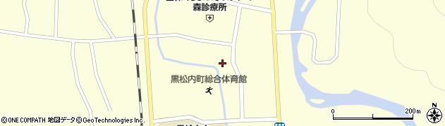 北海道寿都郡黒松内町黒松内周辺の地図