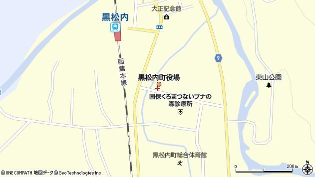 〒048-0100 北海道寿都郡黒松内町(以下に掲載がない場合)の地図