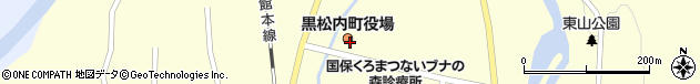 北海道寿都郡黒松内町周辺の地図