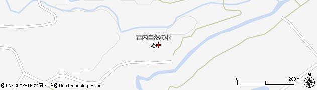 帯広市岩内自然の村周辺の地図