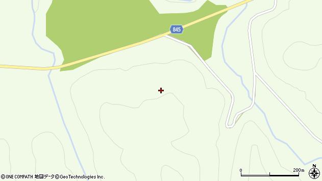 〒055-0323 北海道沙流郡平取町芽生の地図