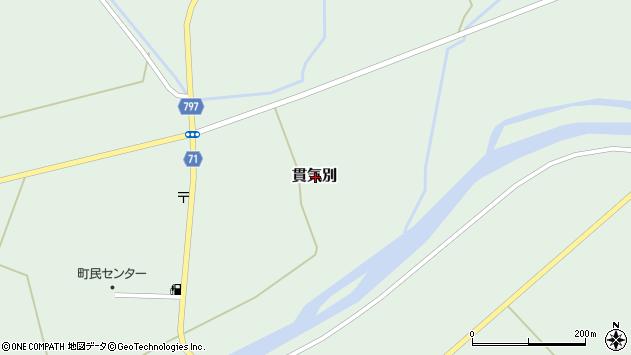 〒055-0321 北海道沙流郡平取町貫気別の地図